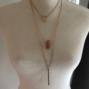 3 Level Necklace NWOT